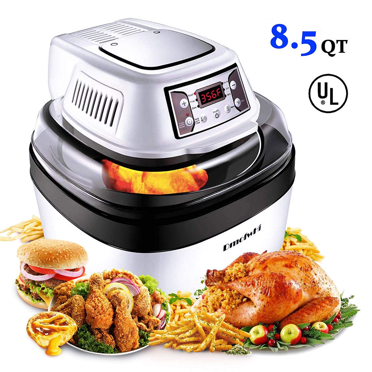 DmofwHi Large Air Fryer Toaster Oven XL