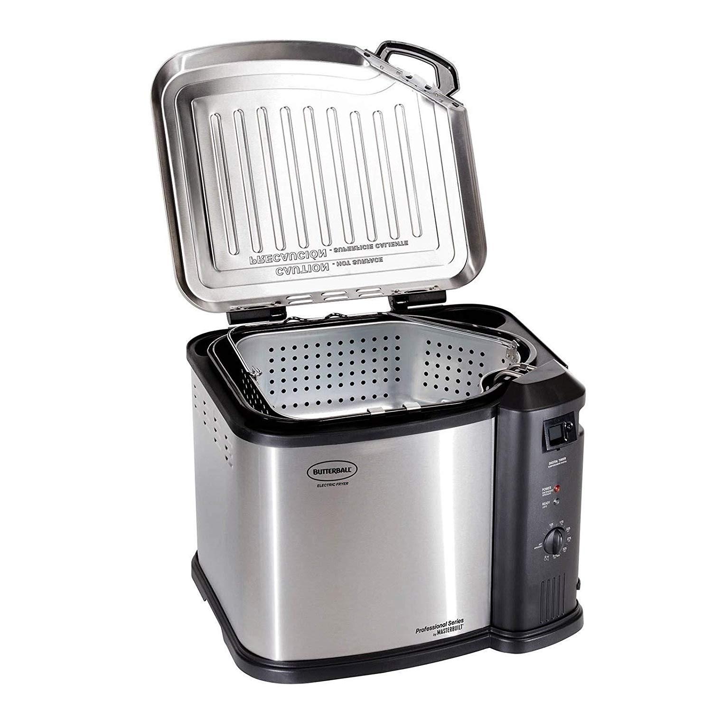Masterbuilt 23011114 Butterball Indoor Electric Turkey Fryer