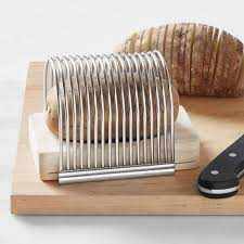 Potato slicing rack