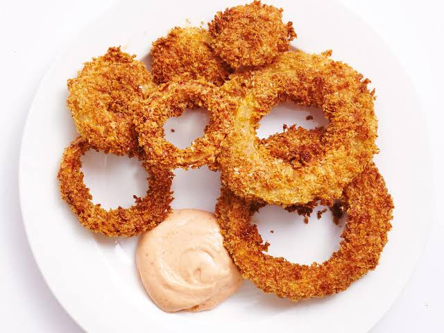 low carb fried onion rings